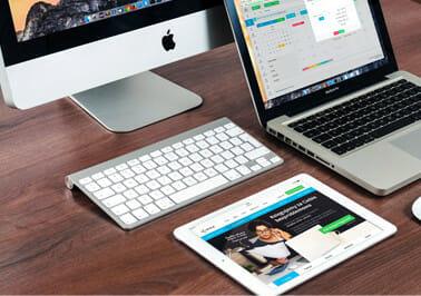 Gemaakt voor desktop, tablet en mobiel