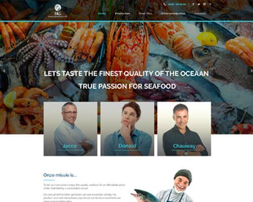 Zeevruchten import en export